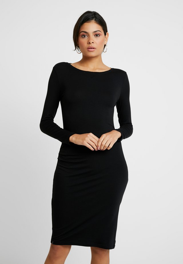 CIA DRESS - Shift dress - black