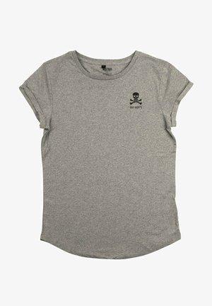 BAD HABITS RU - T-shirt print - mottled grey