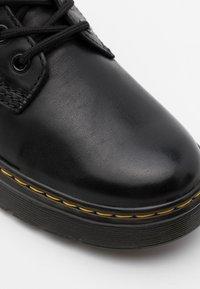 Dr. Martens - THURSTON LUSSO - Lace-up ankle boots - black - 5