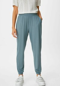 C&A - Tracksuit bottoms - teal - 0