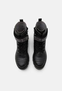 LIU JO - DEBBIE - Šněrovací kotníkové boty - black - 3