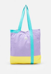 HANGER TOTE UNISEX - Tote bag - lilac/yellow/turquoise