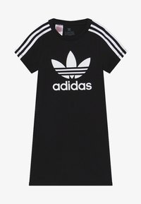 adidas Originals - SKATER DRESS - Žerzejové šaty - black/white - 0