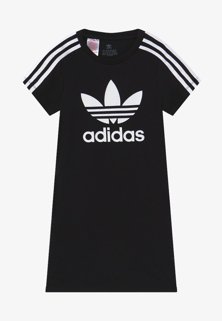 adidas Originals - SKATER DRESS - Žerzejové šaty - black/white