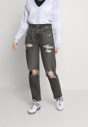 Relaxed fit jeans - stone gray