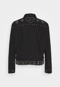Polo Ralph Lauren - TRUCKER JACKET - Denim jacket - black - 1