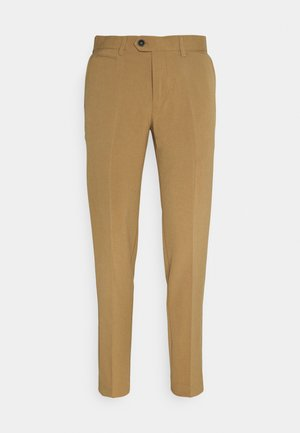 CLUB PANTS - Trousers - light brown