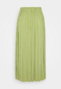 UMA SKIRT - Pleated skirt - tarragon