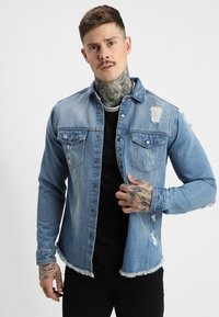 Redefined Rebel - JACKSON JACKET - Koszula - light blue - 0