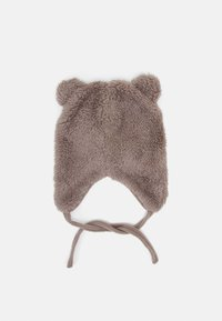 Name it - NBMMELBEL TEDDY SET UNISEX - Beanie - cinder - 1