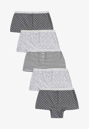 5 PACK  - Kalhotky - grey