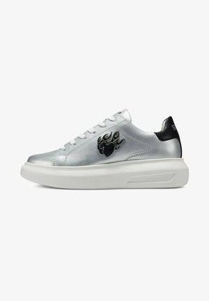 BUMP ED FLAME - Sneakers laag - silver black