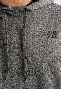 The North Face - SEASONAL DREW PEAK - Bluza z kapturem - medium grey heather - 3