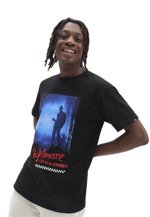 MN X NIGHTMARE ON ELM STREET SS - Camiseta estampada - black