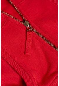 Next - Mikina na zip - red - 2
