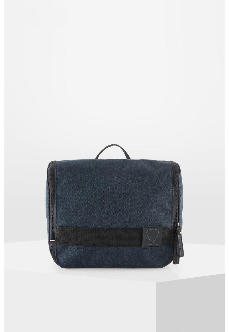 Strellson - NORTHWOOD  - Wash bag - blue