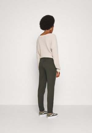 VMMAYA LOOSE SOLID PANT  - Trousers - peat