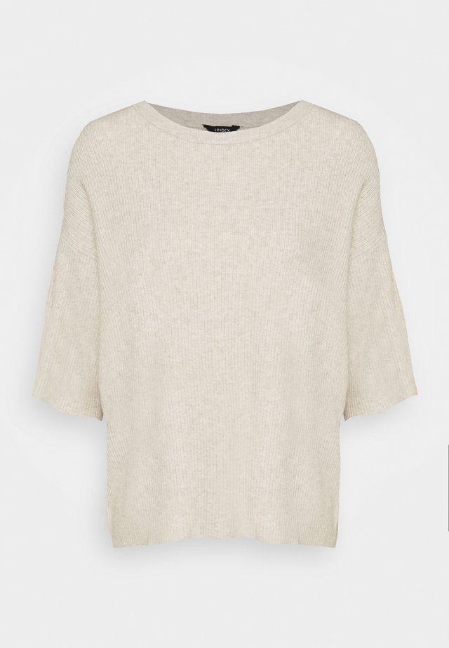 MELISSA - T-shirt med print - light beige