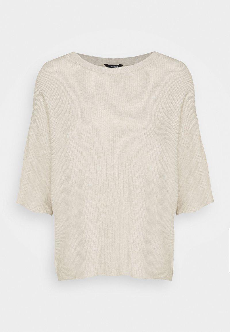 Lindex - MELISSA - T-shirts print - light beige