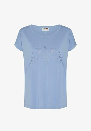ALBA  - Print T-shirt -  blue