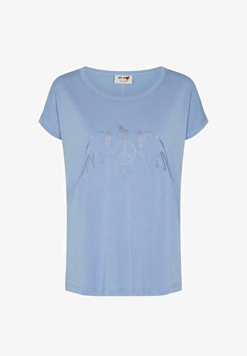 Mos Mosh - ALBA  - Print T-shirt -  blue