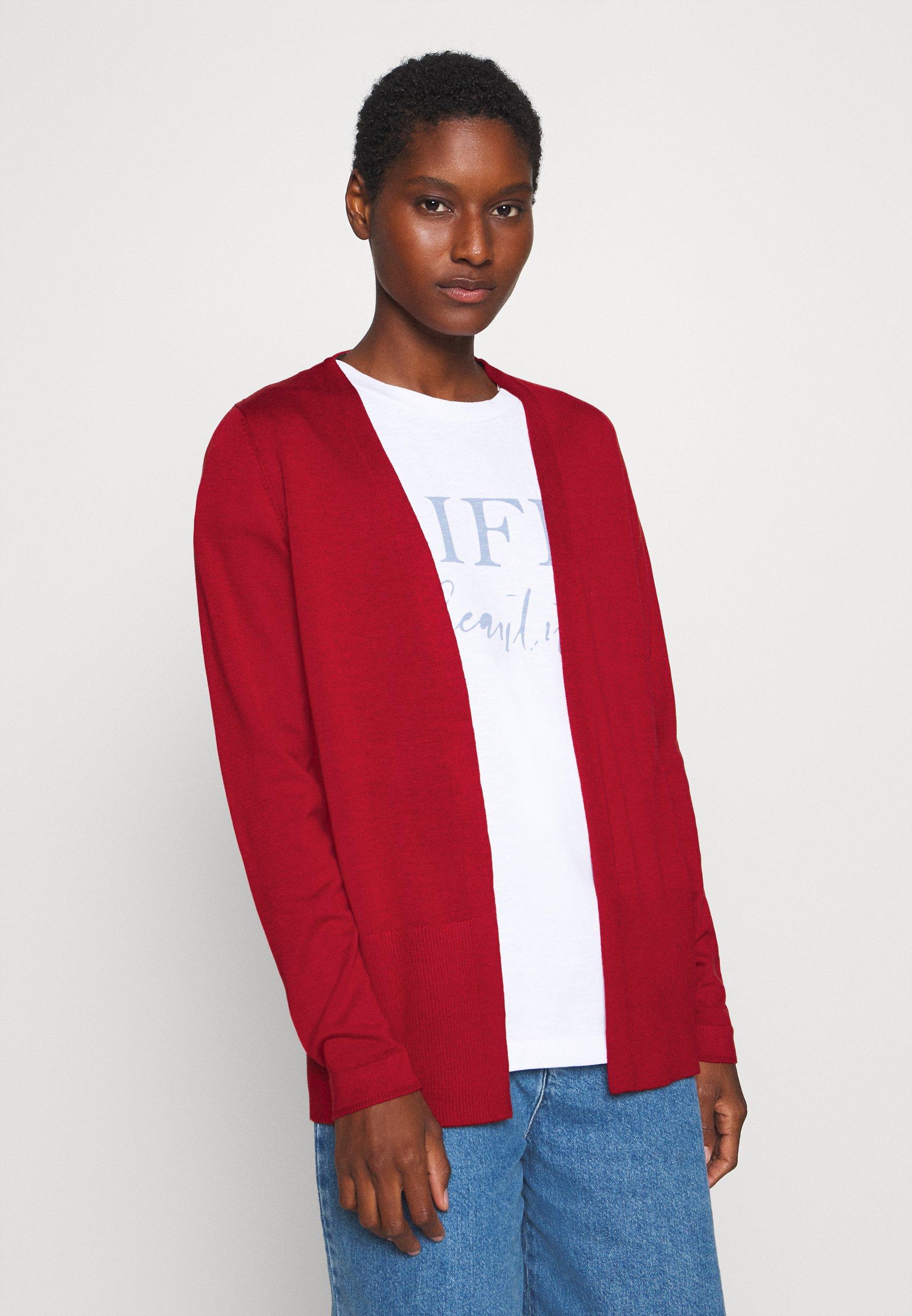 s.Oliver LANGARM Vest luminous red Zalando.nl