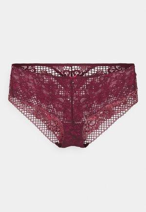 LIANNE GEO FLORAL - Pants - red