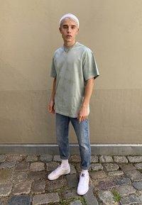 Carhartt WIP - NEWEL PANT MAITLAND - Džíny Relaxed Fit - blue worn bleached - 4