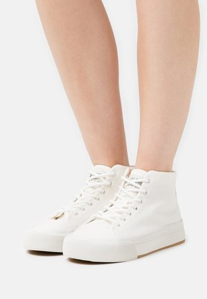SUMMIT MID - High-top trainers - regular white