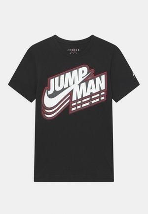 JUMPMAN CORE - T-shirt con stampa - black