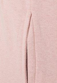 Missguided - CROP ZIP HOODY JOGGER SET - Zip-up sweatshirt - pink - 6