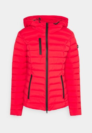 WOLLMANTEL VENEZIA LEICHT TAILLIERT - Light jacket - cherry red