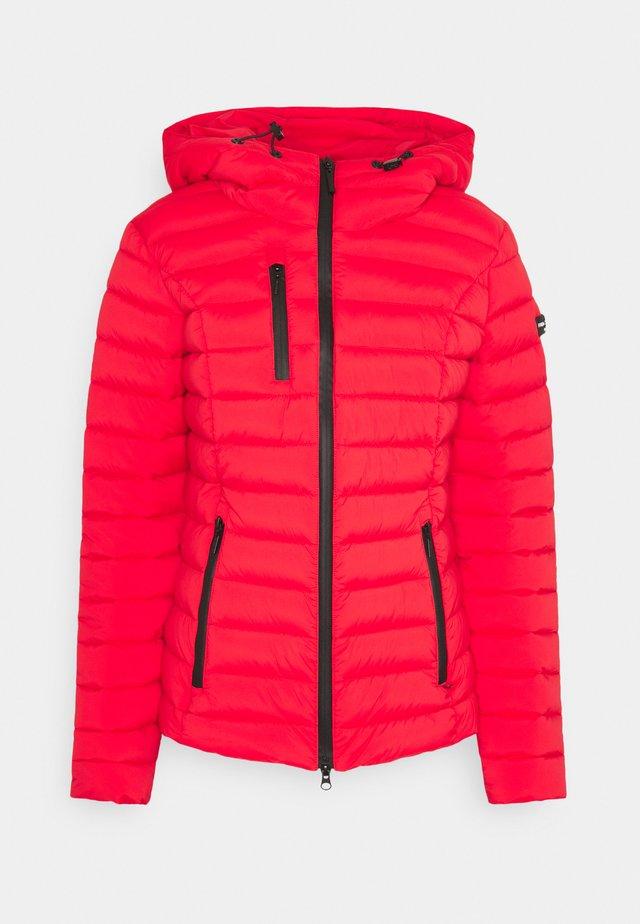 WOLLMANTEL VENEZIA LEICHT TAILLIERT - Light jacket - cherry red