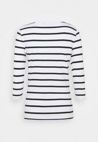 Marks & Spencer London - FITTED STRIPE - Long sleeved top - black - 1