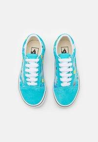 Vans - OLD SKOOL UNISEX - Sneakers basse - scuba blue/true white/black/natural drill - 3