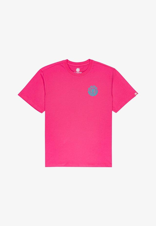 BALMORE - T-shirt con stampa - fushia red