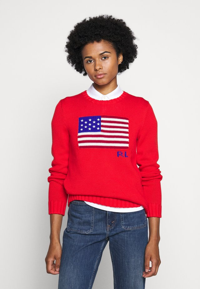 FLAG - Jumper - african red