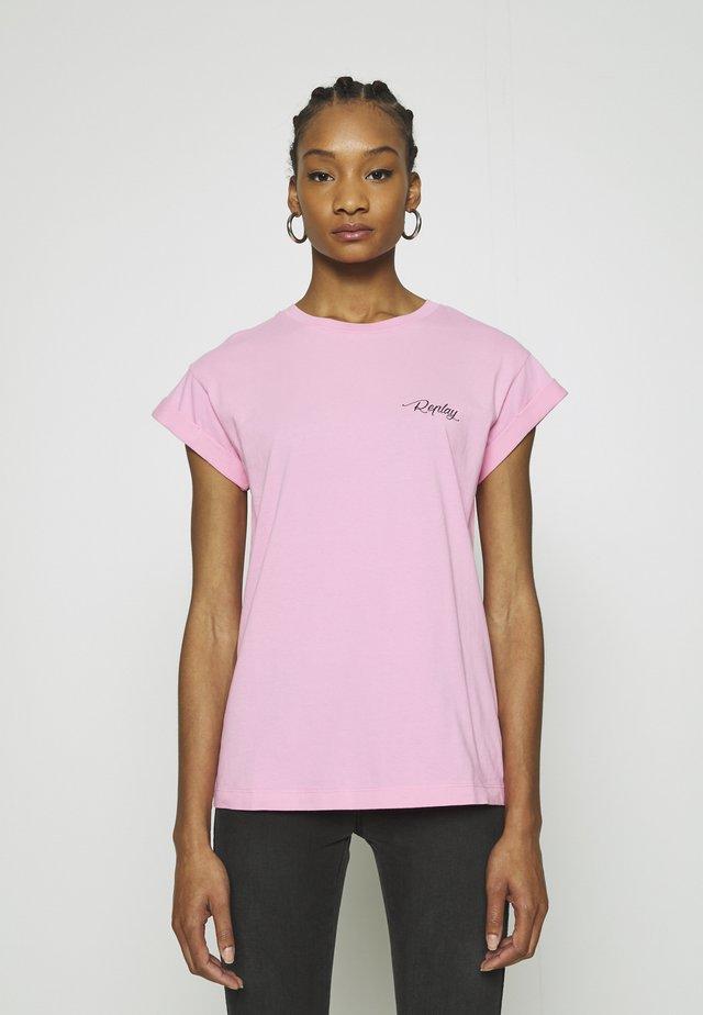 T-Shirt print - candy pink