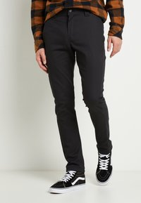 Dickies - SLIM SKINNY WORK PANT - Chino - black - 0
