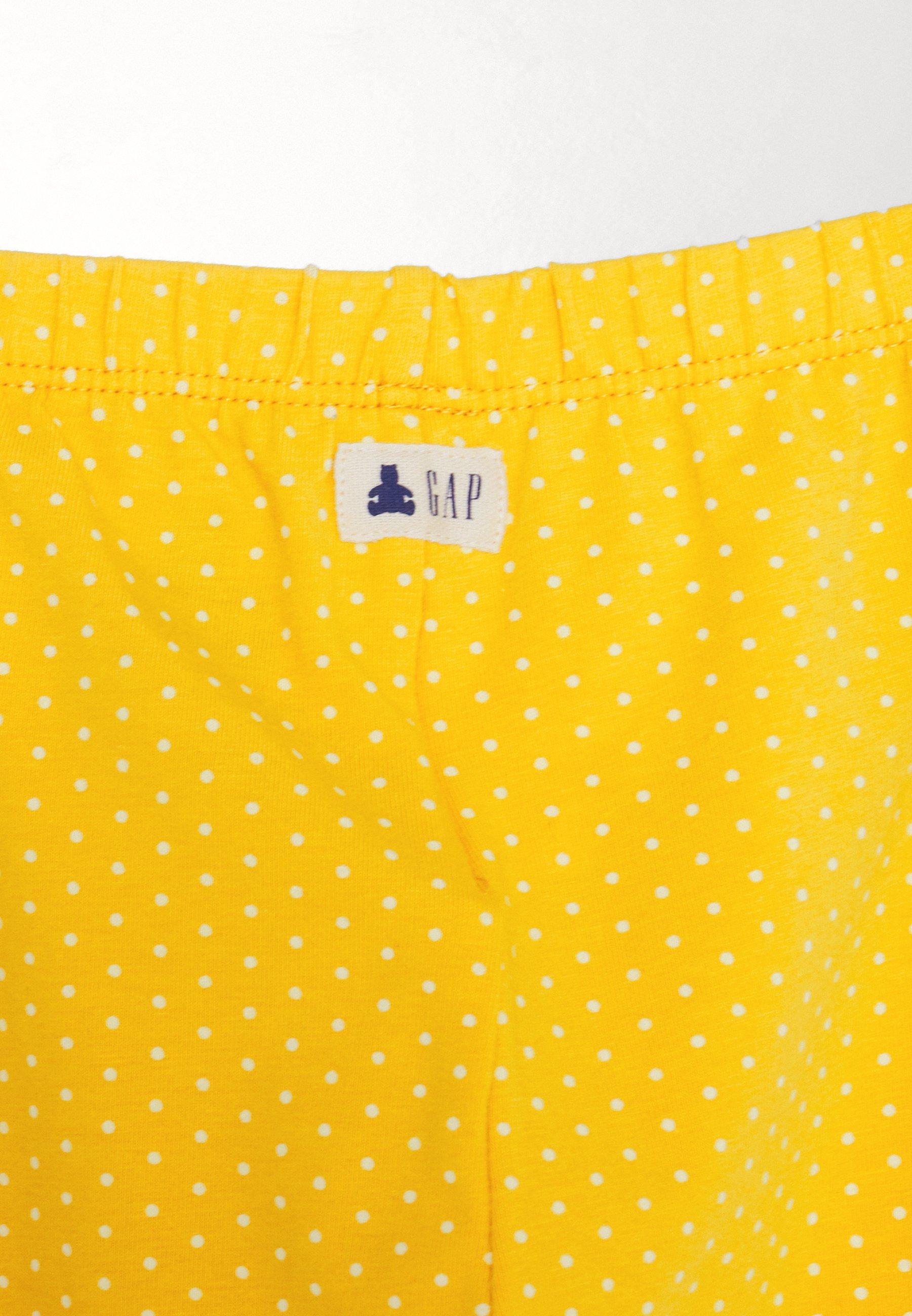 GAP Legginsy - yellow sundown - Ubranka dla dzieci