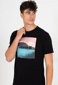 Hurley - EVD WSH BALI  - Print T-shirt - black - 3