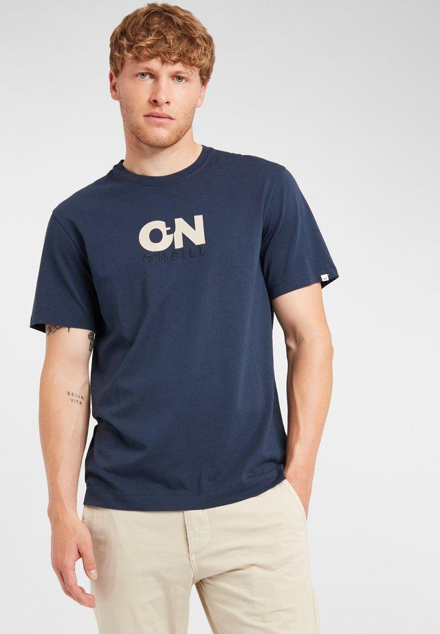 T-shirt imprimé - ink blue