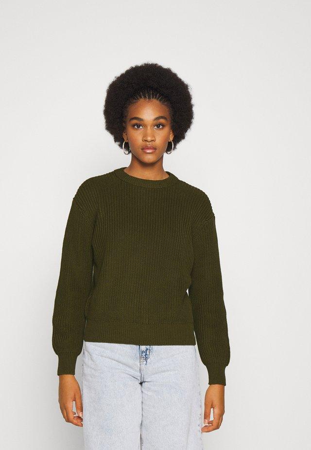 MIKALA  - Pullover - dark olive