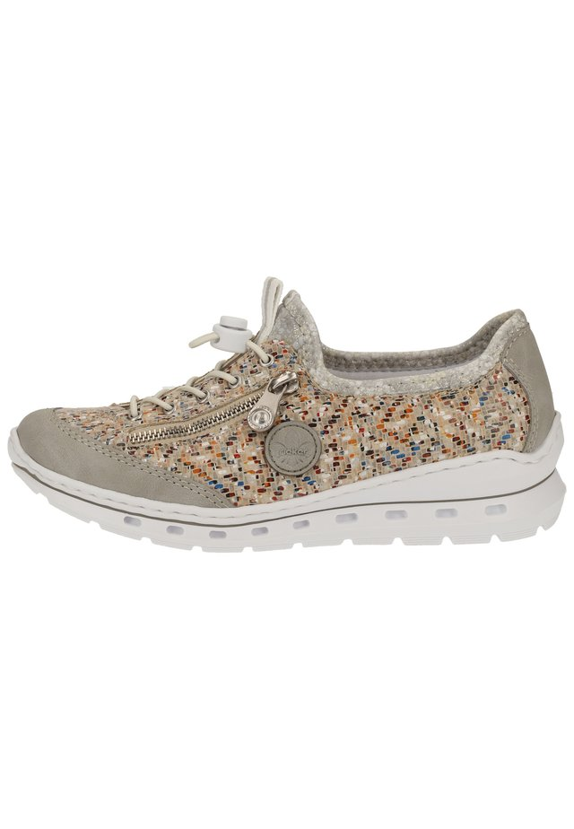 Sneakers laag - cement/pebble-multi/silverflower 40