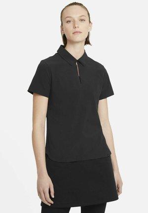 ACE - Polo shirt - black/white