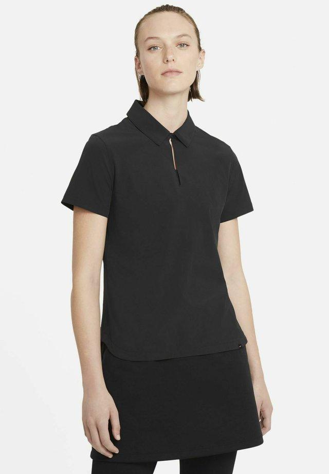 ACE - Koszulka polo - black/white