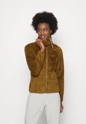 COLONY - Fleece jacket - fudge