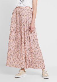 Vila - VIMARGOT MITTY SKIRT - Pleated skirt - rose smoke - 0