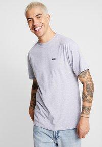 Vans - MN LEFT CHEST LOGO TEE - Basic T-shirt - athletic heather - 0