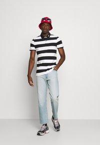 Hollister Co. - Polo shirt - black/white - 1